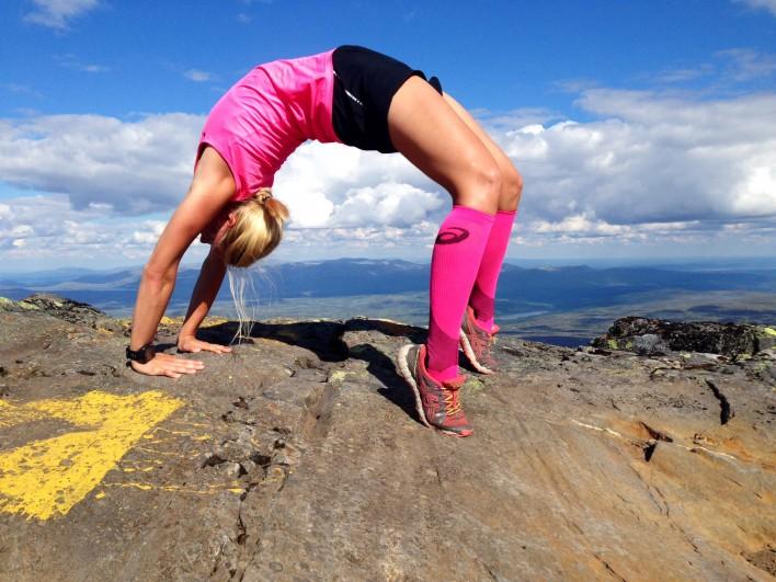 yoga fjällen